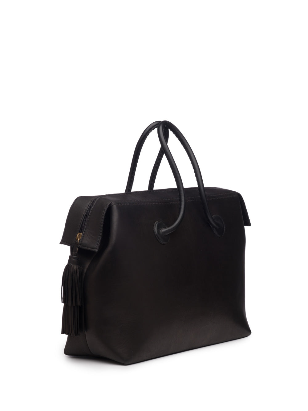 Classic Black Weekend Bag