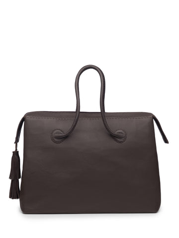 Classic Chocolate Brown Weekend Bag