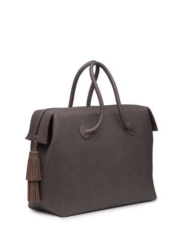 Classic Taupe Weekend Bag