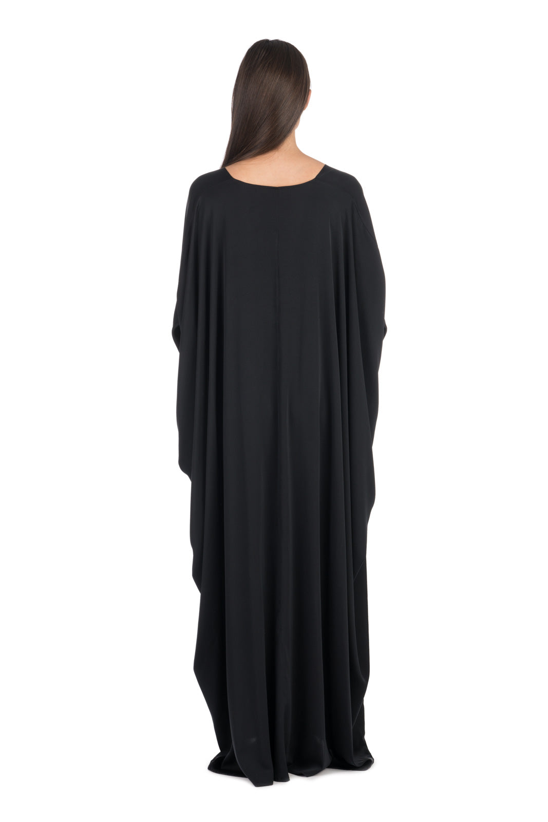 Black Silk Kaftan