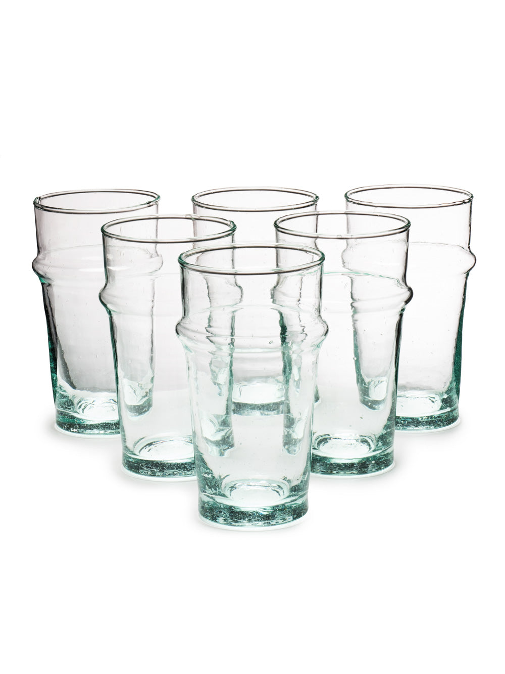 Large Handblown Tea Glass (Set of 6)