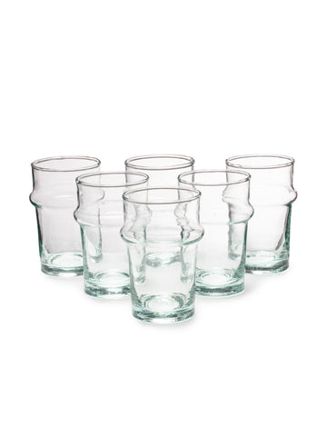 Small Handblown Tea Glass (Set of 6)
