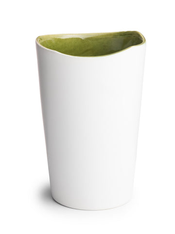 Green Glazed Tumbler