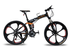 Folding Frame Mountain Bikes ( Non Electric)