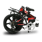 Cyrusher G550 full suspension electric bike