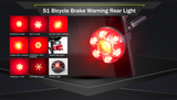 S1-Cycling Rear Brake Llight