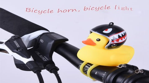 BSE Small Bicycle Bell Yellow Duck Bicycle With Light