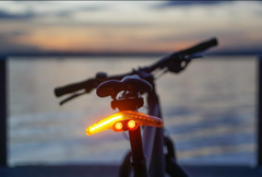 VELHOUR REAR BLINKER on bike