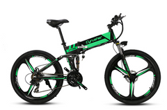 XF 700 Cyrusher Folding Electric Mountain Bike  21 Speeds