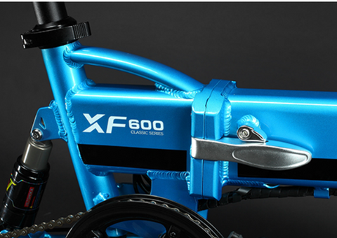 XF 600 Cyrusher Folding electric Bike with Bike Computer 3 Speeds Setting