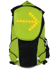 LED Safety Blinker Backpack 5L
