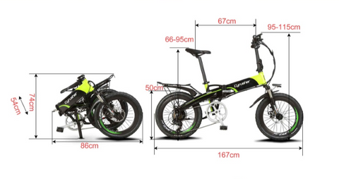 XF 500 Cyrusher Electric folding Road bike