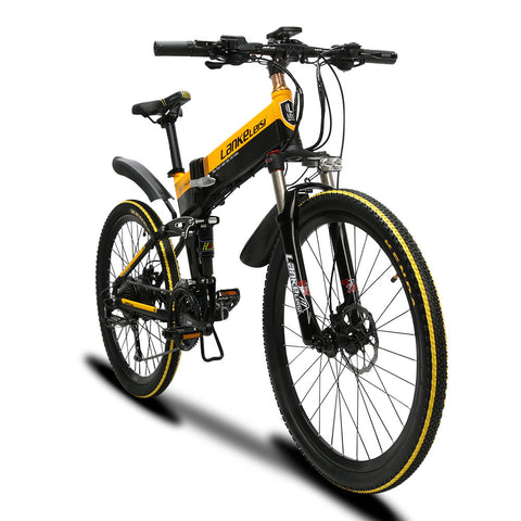 XT750 Lankeleisi Cyrusher Folding Electric Mountain Bike