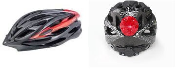 BSE GR Elite Cobra Helmet with Brake light