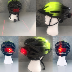 BSE Safety Helmet and Blinker Attachment