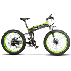 Electric Fat Tyre Folding frame Mountain Bikes