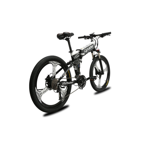 Cyrusher XF770 Updated folding electric bike 48V 500W