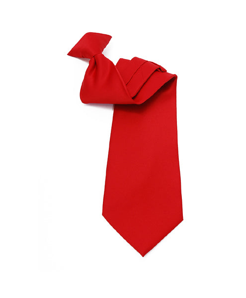 Poly Solid Clip On Tie PSC2401 - Caterwear.com