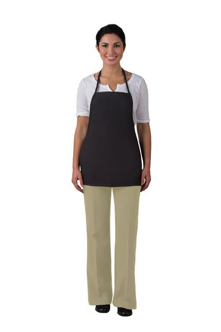"Bib Apron 22"" - No Pocket Promo - Non-Adj Neck - Caterwear.com"
