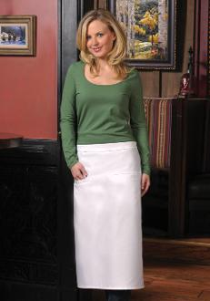 High Quality -Full Length Bistro Apron - Double Inset Pocket - Caterwear.com