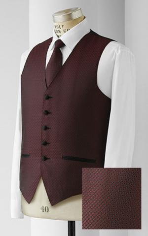 Sierra Woven Jacquard Unisex Vest - Assorted Colors - Caterwear.com