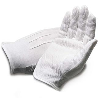 White Service Gloves with Grips - Caterwear.com