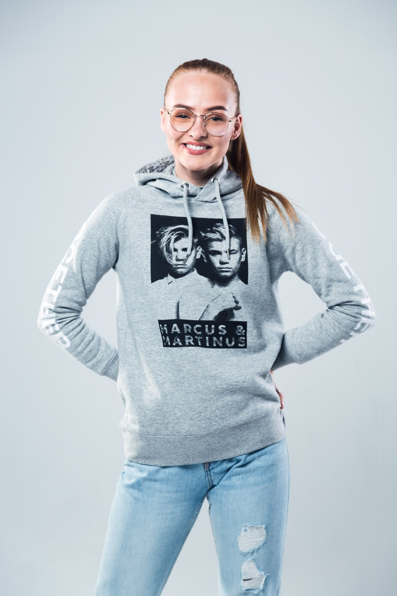 M&M Hoodie | Together. Marcus& Martinus Pullover for girls