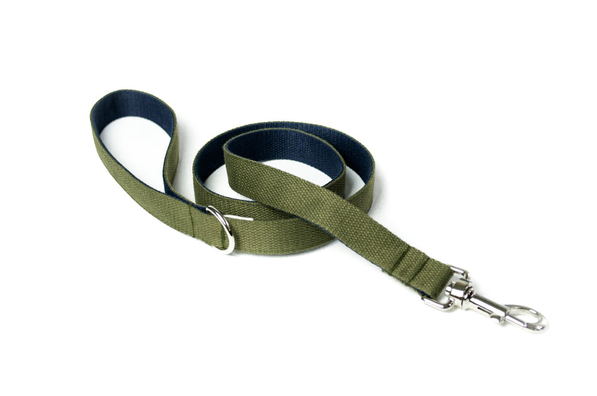 Dog Lead 2 Tone Cotton