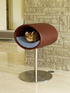 Cat Bed rondo Leatherette