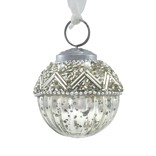 Small Dazzling Beaded Bauble