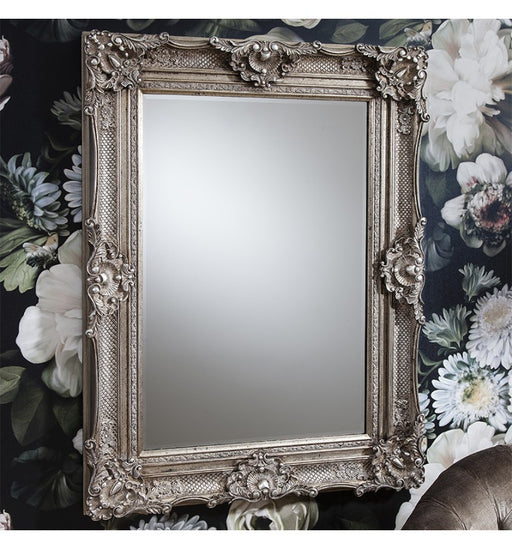 Stretton Rectangle Silver Mirror