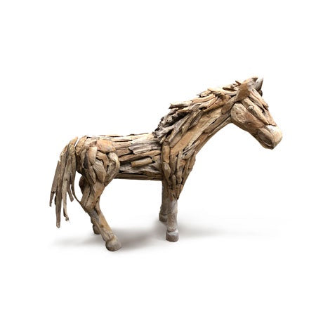 Root Wood Horse Mini Looking