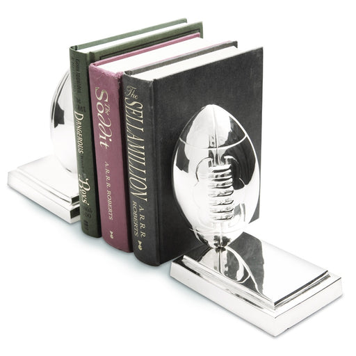 Rugby ball bookends