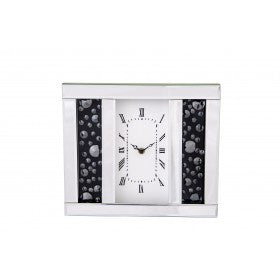 Black Diamond Table Clock