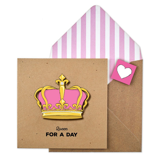 Queen For A Day Card