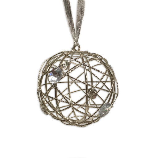 Hanging Wire Ball With Gems