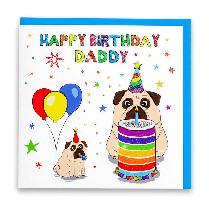Happy Birthday Daddy Card