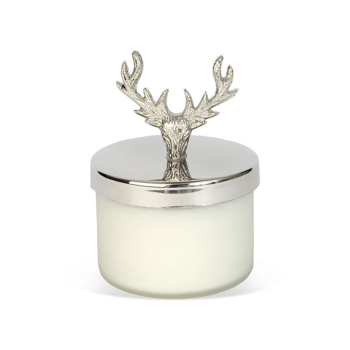 Small Stag Wax Filled Candle