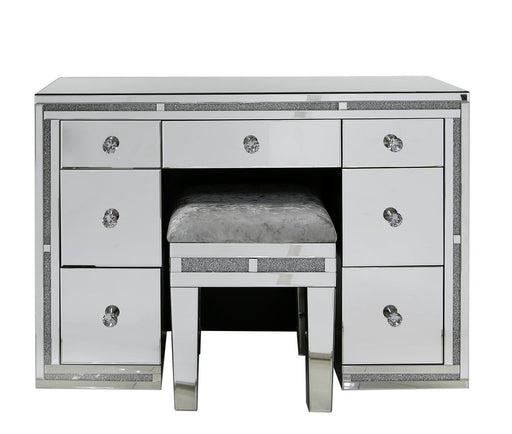 Milano Smoked 7 Drawer Dressing Table
