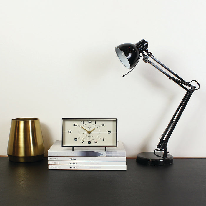 NEWGATE - Wideboy Alarm Clock Black