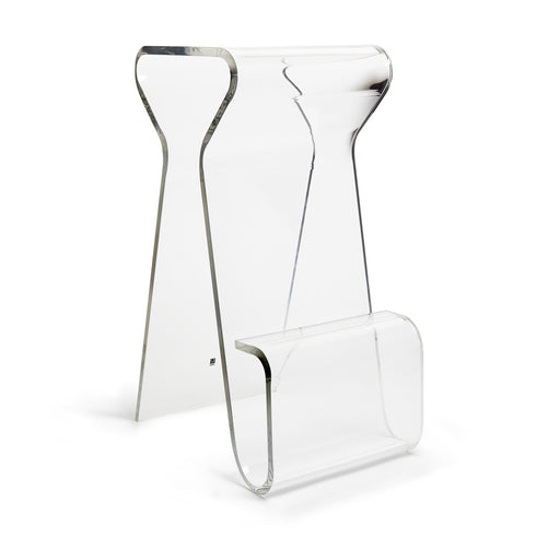 Magino Stool Clear Tall