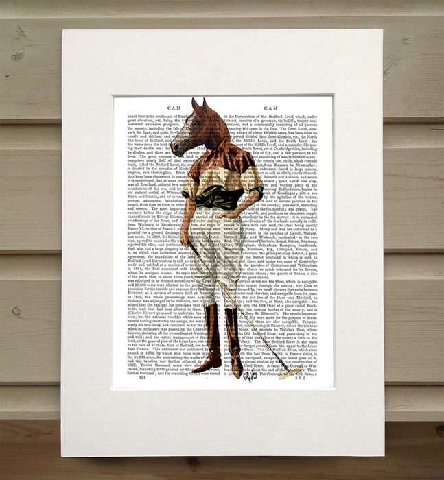 Polo Horse, Full Book Print
