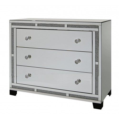Milano Mirror 3 Drawer Cabinet