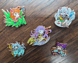 Series 1 Limited  Large Hard Enamel Yu-Gi-Oh Pins