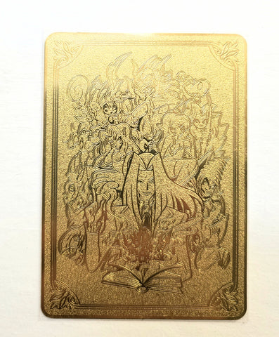 Limited Metal Pegasus Toon Field Center in Yellow Gold