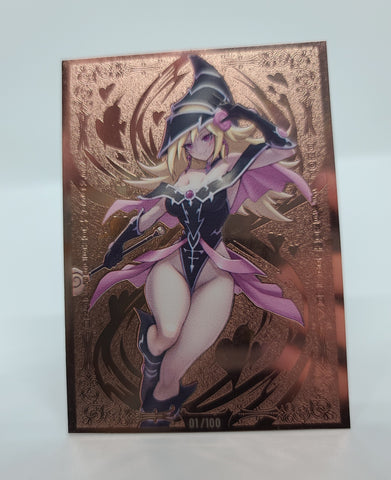 Limited Metal Magi Magi Magician Gal Field Center in Rose Gold