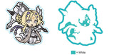 Dogmatika Ecclesia, the Virtuous Chibi Holographic Car Decal/Sticker