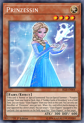 Prinzessin as Elsa Orica (Super Rare)