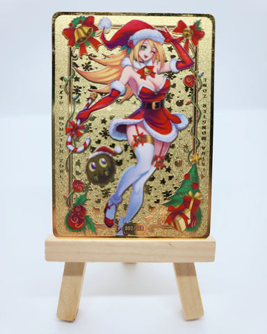 Limited Metal Holiday Dark Magician Girl Field Center in Silver/Gold