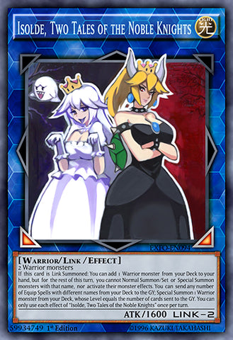 Isolde, Two Tales of the Noble Knights as Bowsette and Boosette (Super Rare)